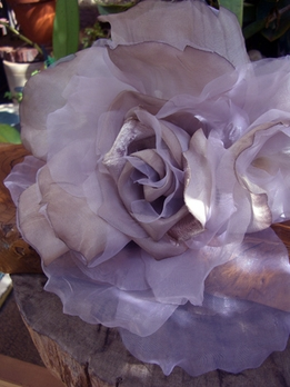 DIY Designing with Silk and Handwrapped Flowers