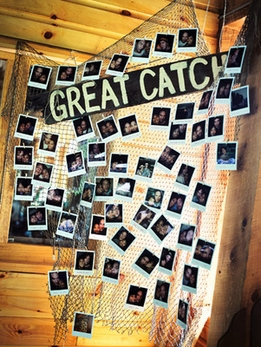 DIY: Engagement Party Decoration: Great Catch!