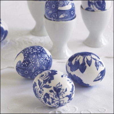 DIY  How to Decoupage Eggs