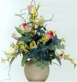 DIY: How to make a Tulip and Dogwood Flower Arrangement