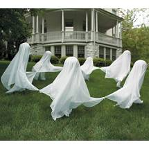 DIY Make a Lawn Ghost
