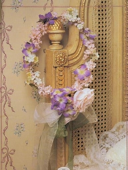 DIY:  Wedding Head Piece Garlands