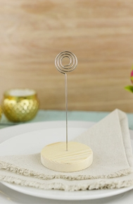 Place Card Holders, Table Numbers - Click to enlarge