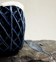 Of the Earth Eco-Twist Ribbon - Spruce Blue (8yds)