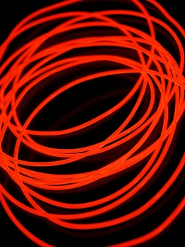 El Wire Lights Red | 2.2mm | 15 Ft