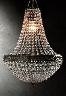 Renaissance Crystal Chandelier 25in