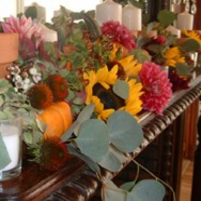 Fall Flowers and Decorations
