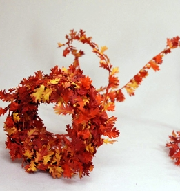Fall Leaf Roping Wired Fall Colors 12'