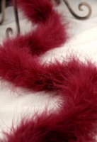 Feather Boas Burgundy Marabou 25 gram