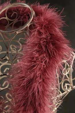 Feather Boas Marabou Reddish Brown 25 gram