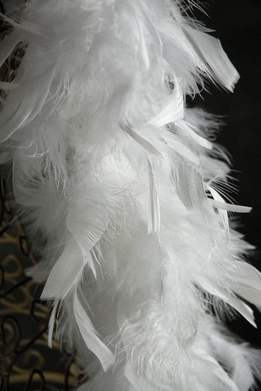 Feather Boas White Chandelle 50 gram