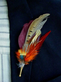 Feather Boutonni�res Prince William