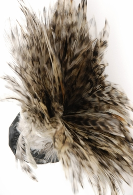 "Feather Trim Chinchilla 36"" long x 5"" tall"