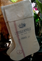 Feedsack Stockings L'etoile Royale Crown