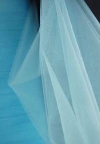 "Fine Tulle Bolt Light Blue 54"" wide 40 yards"