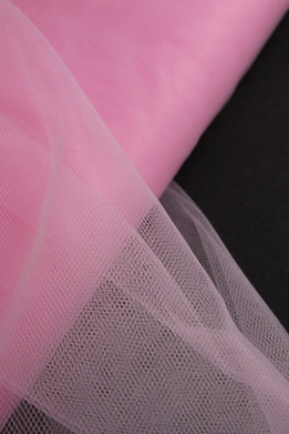 "Fine Tulle Bolt Pink 54"" wide 40 yards"