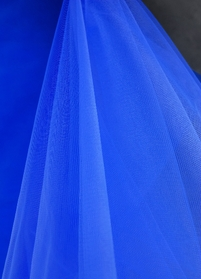 "Fine Tulle Bolt Royal Blue Tulle 54"" wide 40 yards"