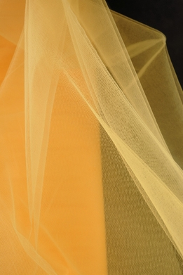 "Fine Tulle Bolt Yellow 54"" wide 40 yards"