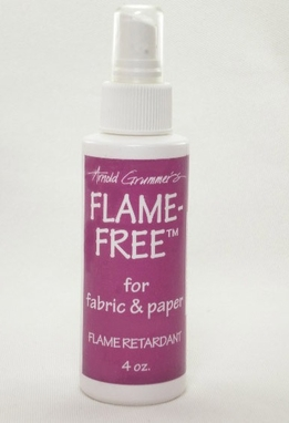 Flame Free Retardant Spray for Fabric & Paper