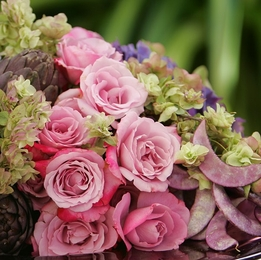 "Flower Arranging with Fresh Flowers ""Wiring & Taping Stems"""