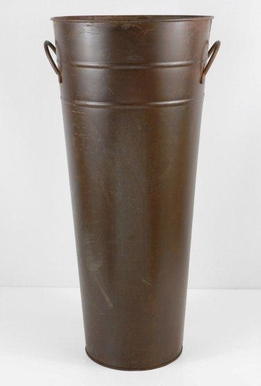 "Flower Market Buckets 22"" Rust"