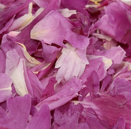 Flower Petals Violet Peony Petals Freeze-dried (5 cups/pkg)