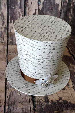 French Script Top Hat