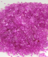 Fuchsia Pink Crushed Glass 2-4mm 4 lbs.