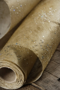 "Galaxy Paper 20"" x 16.5 ft. Gold Paper Roll"