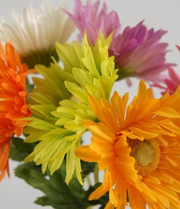 Gerbera Daisy Bouquet Silk Flowers