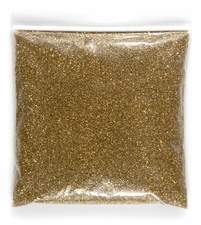 German Glass Glitter Gold 1 lb. bag
