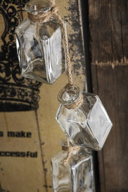 Glass Bottle Garland