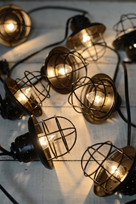 Globe Lights, Outdoor Patio Lights & Cafe Lights