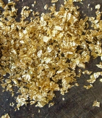 Gold Mica Dust .1 ounce tube