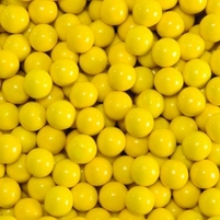 Golden Yellow Sixlets Favor Candy | Six 14oz Bags