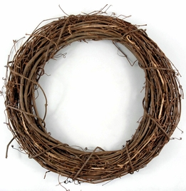 Grapevine Wreath 18in