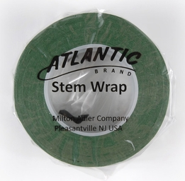Green Stem Wrap Floral Tape Atlantic Brand 1/2in width 30 yds (Pack of 2)