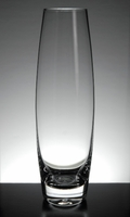 "Heavy Glass 7-1/2"" Bud Vases"