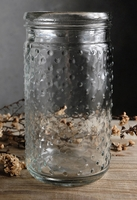 Hobnail Jar 7in