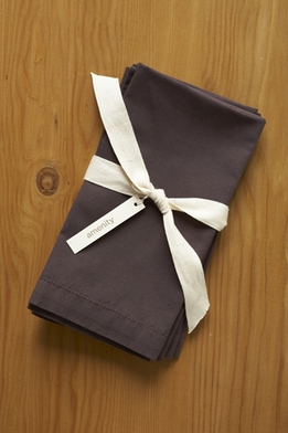 "<font color=""red""><b>HOT BUY!</b></font> Amenity Organic Cocoa Brown Cotton 300 count Napkins (4 napkins)"