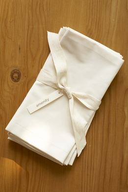 "<font color=""red""><b>HOT BUY!</b></font> Amenity Organic Cream Cotton 300 count Napkins (4 napkins)"
