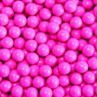 Hot Pink Sixlets Favor Candy | Six 14oz Bags