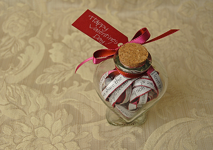 How to Make a Valentines Day Gift Bottle