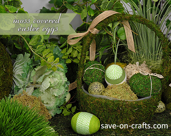 How to Make Natural Looking Moss Eggs