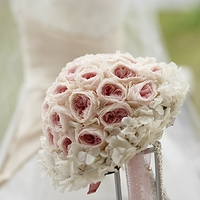 Hydrangea Preserved Flower  Bouquet Collar