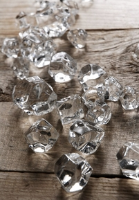 Ice Cubes Vase Gems (24 pieces)