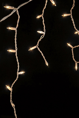 Icicle String Lights 14 Ft | White