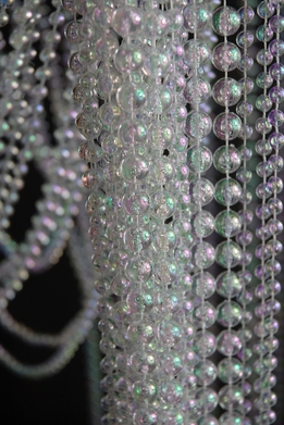 "Iridescent Crystal Curtains Garlands 35"" x 6ft (34 garlands)"