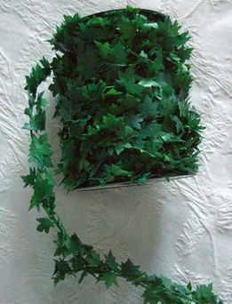 Ivy Roping Green Garland Wired PVC 27 yds
