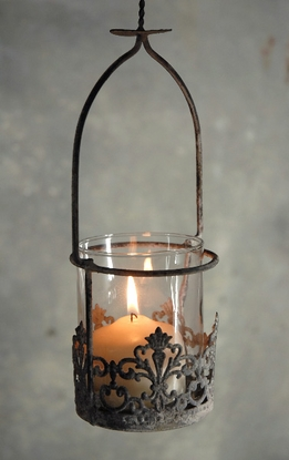 Juliet Hanging Candle Holder 12""